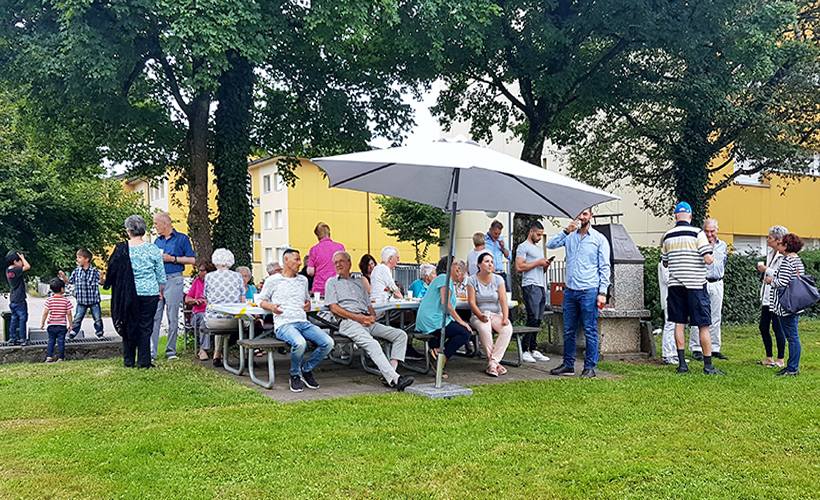 Sommerfest Pünt-Rössliwis-Rütibach