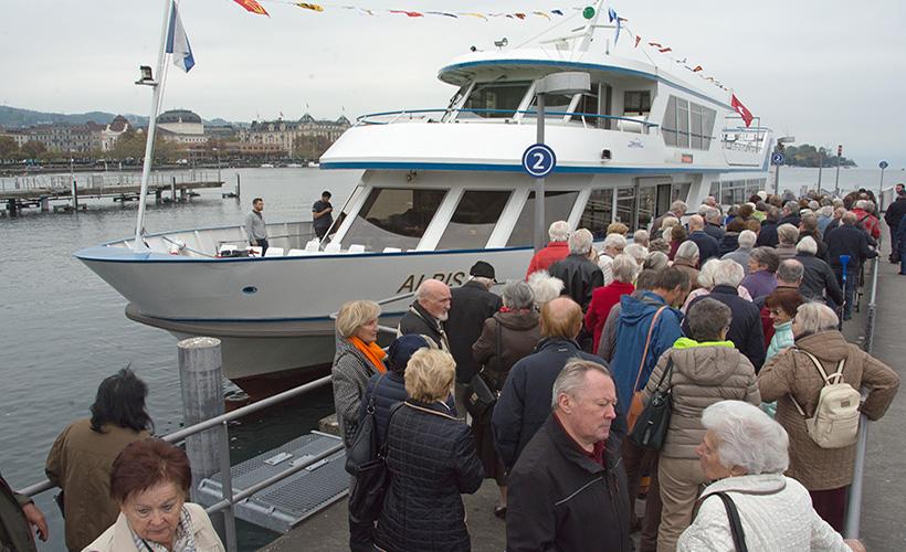 3. SGE-Seniorenschifffahrt